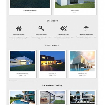 Architecture Bureau WordPress Theme