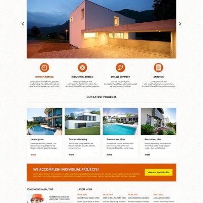 Architectural Agency Joomla Template