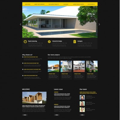 Architecture Agency Joomla Template
