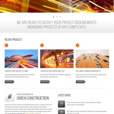 Architecture Joomla Template